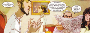 Family Dialogue is a clear strong suit of the comic.